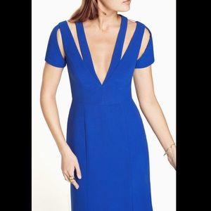 Nwt bcbg royal blue estrella mermaid gown